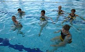 marche aquatique ou aquajogging